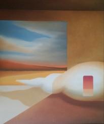 Pronti per un nuovo viaggio, 2013 - olio su tela, 60x50cm