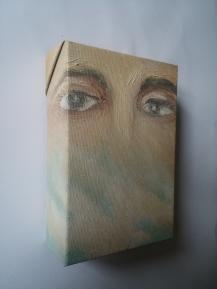 Anita, 2016 - olio su tela, 15x10cm