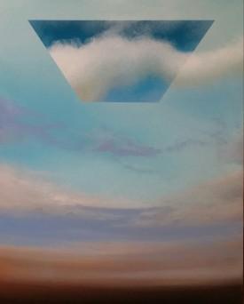 Incontri, 2016 - olio su tela, 50x40cm