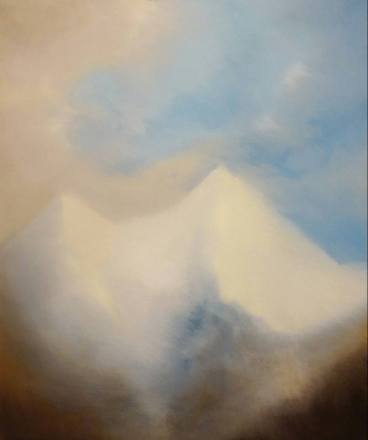 Montagne essenziali, 2016 - olio su tela, 60x50cm