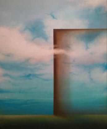 Andare oltre, 2016 - olio su tela, 60x50cm