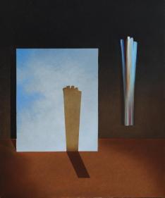 Omaggio a Vittorio Matino, 2011-2013 - olio su tela, 60x50cm