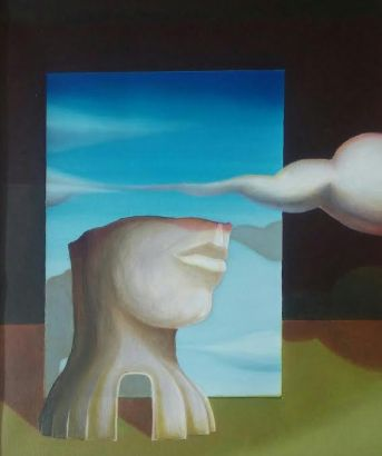 Scene di teatro, 2011-2013 - olio su tela, 60x50cm