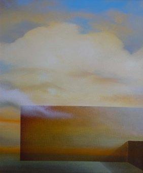 Incontri, 2016 - olio su tela, 60x50cm