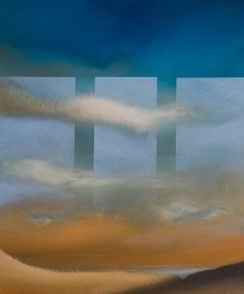 Incontri, 2015 - olio su tela, 60x50cm