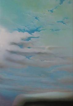 Incontri, 2016 - olio su tela, 100x70cm
