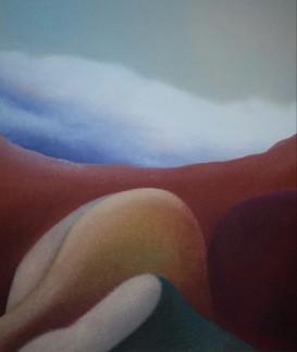 Montagne essenziali, 2005-2011 - olio su tela, 60x50cm