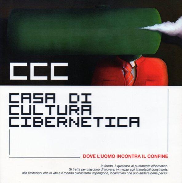 depliant CCC - Casa di Cultura Cibernetica, 2011