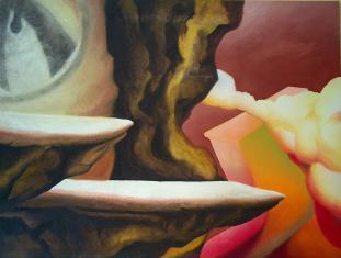 Montagne essenziali, 2005-2011 - olio su tela, 150x200cm