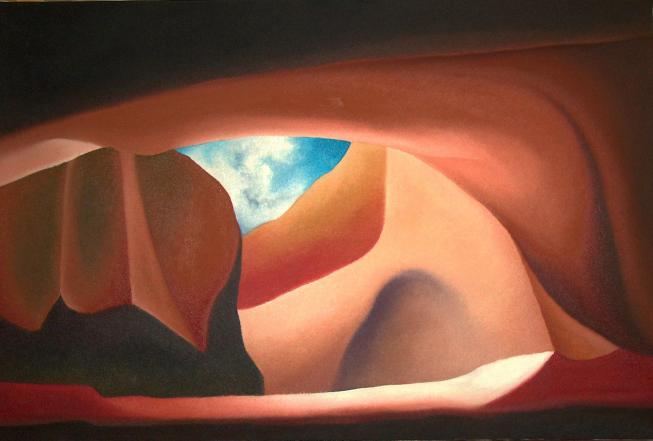 Montagne essenziali, 2005-2011 - olio su tela, 100x150cm