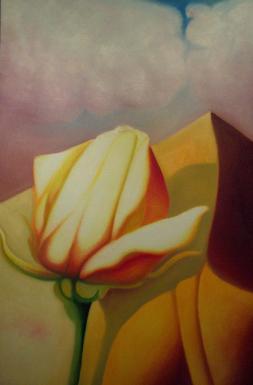 Montagne essenziali, 2005-2011 - olio su tela, 150x100cm