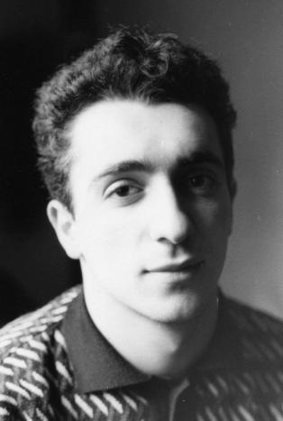 Maurizio Camposeo artista visivo Vicenza - ritratto giovanile