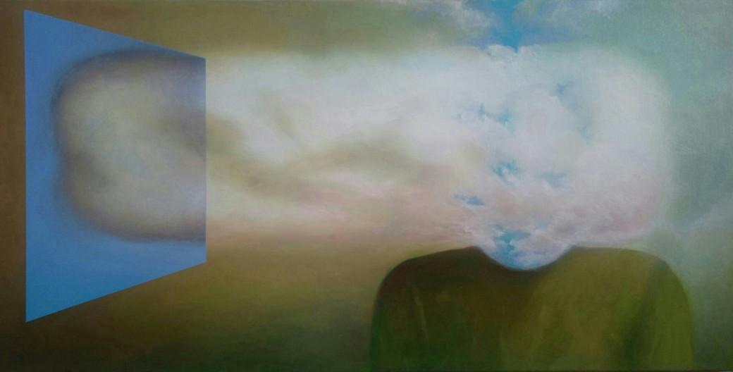 Maurizio Camposeo artista, 2017 - Uomo Cibernetico 4 Autoritratto
