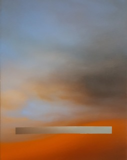 Maurizio Camposeo artista - Ricerca dell'equilibrio, 2018 - olio su tela, 100x70cm