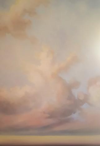 Sottovoce, 2019 - olio su tela, 100x70cm